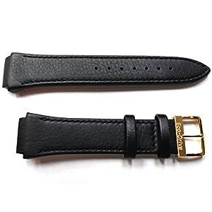 59-S51432 ORIGINAL GENUINE Citizen Paradigm Black leather Watch Band for Men's Eco-Drive Dress Watch BM6574-09E
