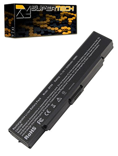 Click to buy Battery Sony VAIO VGN-NR120E/T - 6 Cell, 4400mah (Black) - From only $50.95