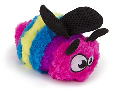 goDog Bugs Tough Plush Dog Toys