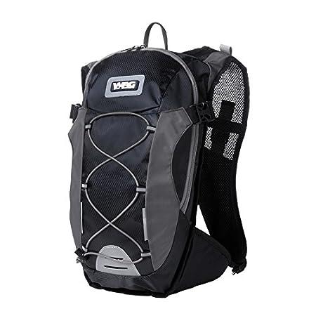 Wag Mochila 14L con bolsa agua 1,5L negro/gris (Mochilas y ...