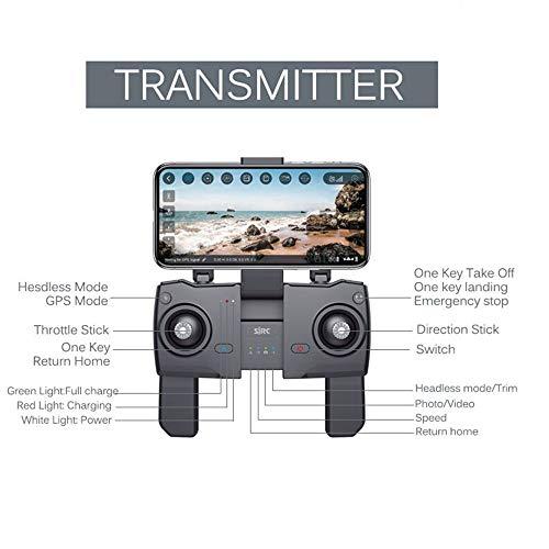 TwoCC Drone Control remoto Avión de juguete, Sj R/C Z5 1080P ...