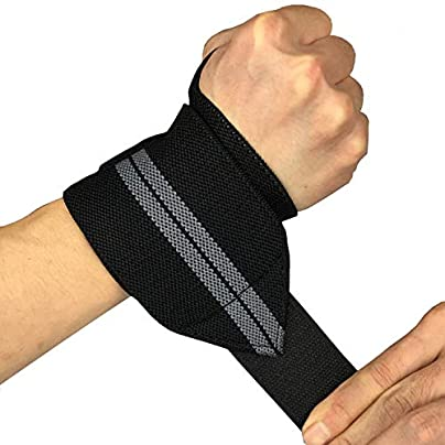 Yellow Red Adjustable Wristband Elastic Wrist Wraps Bandages For Weightlifting Powerlifting Breathable Wrist Support Estimated Price £8.39 -