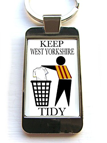 Bradford Supporters Keep Your Area Tidy Keychain