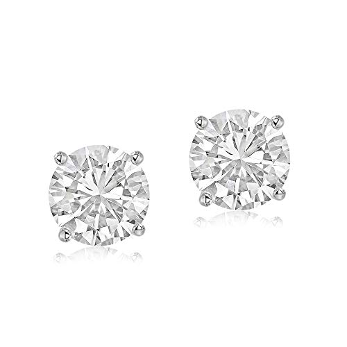 100% Real Diamond Earrings Luxury Diamond Stud Earrings 1/2ct IGI Certified Diamond Stud Earrings For Women Lab Grown Diamond Earrings 14K E-F-G-H Quality Real Diamond Stud Earrings (1/2ct, Gold)