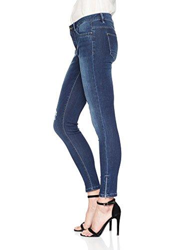 Skinny Denim dark Donna Jeans Only Blu Blue 7U584qx