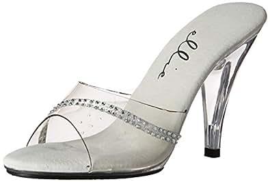 Ellie Shoes Womens 405-jesse 405-jesse Transparent Size: 6