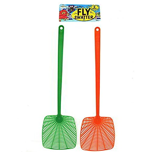144 2 Pack fly swatter by FindingKing