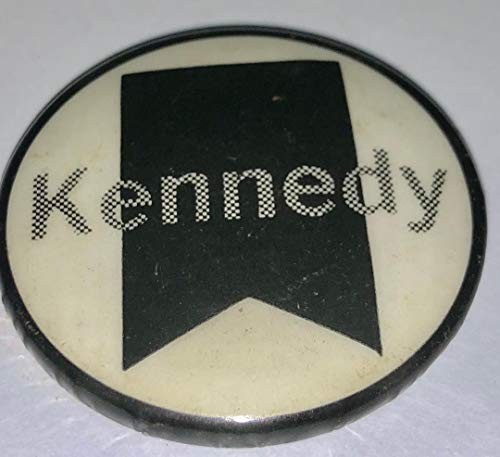 - 1968 Robert Kennedy San Jose CA Memorial Button