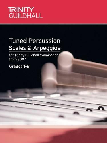 Download Tuned Percussion Scales & Arpeggios Grades 1-8 (Trinity Scales & Arpeggios) pdf