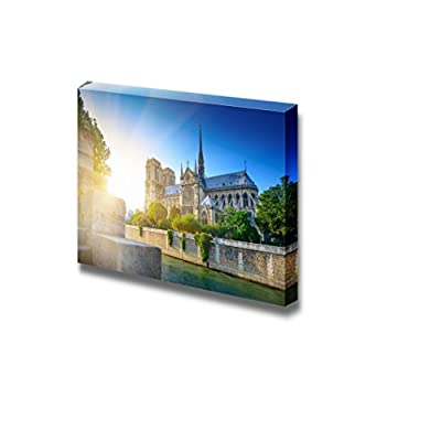 Canvas Prints Wall Art - Notre Dame at Sunset - Paris - 16
