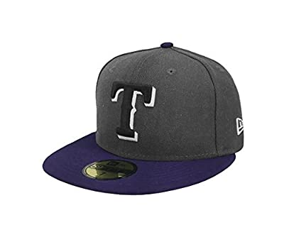 New Era 59Fifty Hat MLB Texas Rangers Shader Melt 2 Charcoal/Royal Blue Cap
