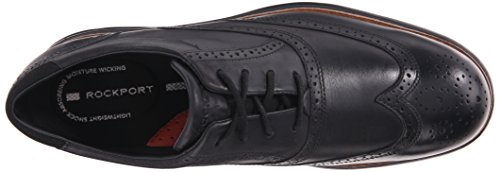 Rockport Heren Total Motion Fusion Wingtip Schoen Zwart