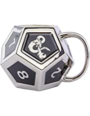 Paladone Dungeons and Dragons D12 tärningsformad kopp, silver