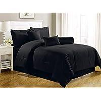Luxury Self Stripe LavenderSet Of 4-piece Bedding Set