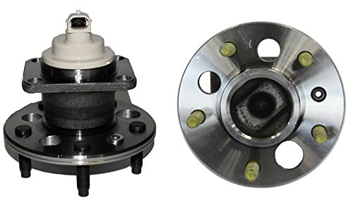 (Brand New (Both) FWD Models Only Rear Wheel Hub and Bearing Assembly - for Buick Allure Century LaCrosse Regal Terraza 5 Lug W/ABS (Pair))