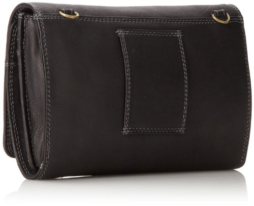 Derek Alexander Convertible Black Bag Black Organizer Clutch Multi One Small Size w7wfCnPqxa
