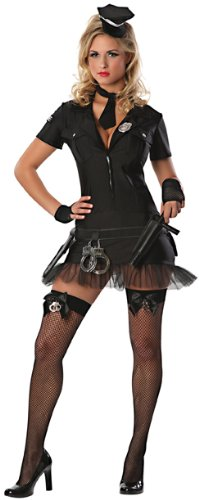Delicious Book Em Sexy Costume, Black, Small (Book Costumes For Adults)