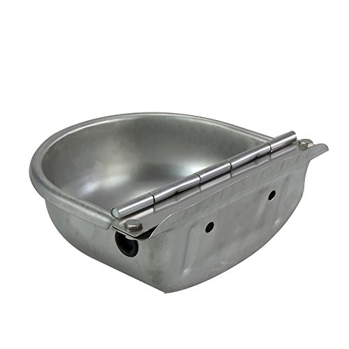 Stainless Steel Automatic Waterer Bowl Horse Cattle Goat Sheep Pig Dog Float Valve Water Trough Farm Supplies Livestocktool by livestocktool.com (Image #2)