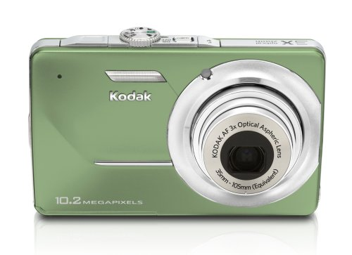 (Kodak EasyShare M340 10MP Digital Camera with 3x Optical Zoom and 2.7 inch LCD (Green))