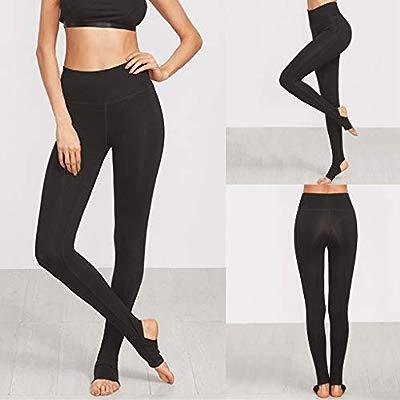 SMILEQ Pantalones de Yoga para Mujer Pantalones de Correr de ...