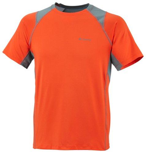 Columbia Solar Polar Short Sleeve Crew Neck T-Shirt (Small, - Outlet Columbia Uk