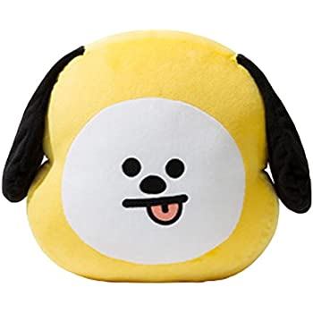 KPOP Cute Cartoon BTS BT21 Plush Doll Toy Bangtan Boys Throw Pillow Cushion 17.7