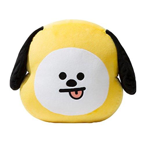 E-win Company EWINHUIYING KPOP Cute Cartoon BTS BT21 Plush Doll Toy Bangtan Boys Throw Pillow Cushion 17.7