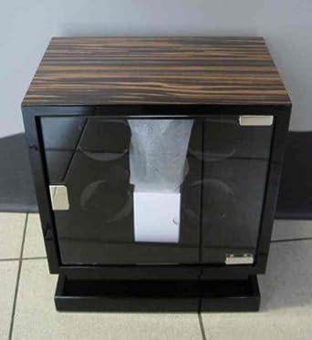 Kadloo Uhrenbeweger Cube Four MACASSAR fÜr 4 Uhren