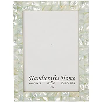 5x7 picture frames chic photo frame mother of pearl handmade vintage from handicrafts home 5x7 - Mother Of Pearl Picture Frame