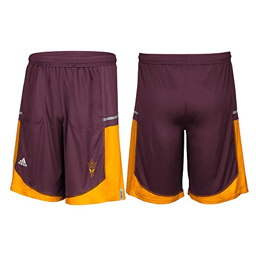- NCAA Arizona State Sun Devils Men's Sideline Player Shorts with Pockets, X-Large, Maroon