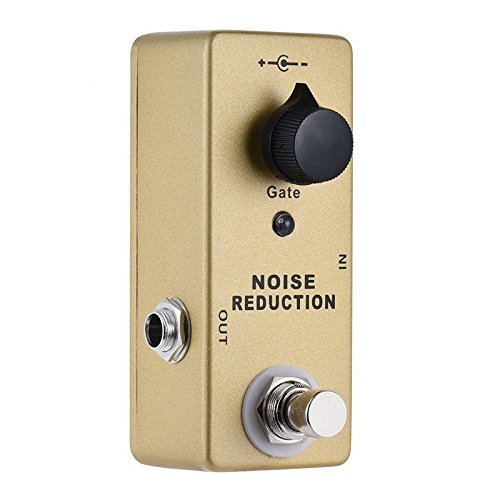 MOSKY Noise Gate Noise Reduction Suppressor Mini Single True Bypass Effect Pedal