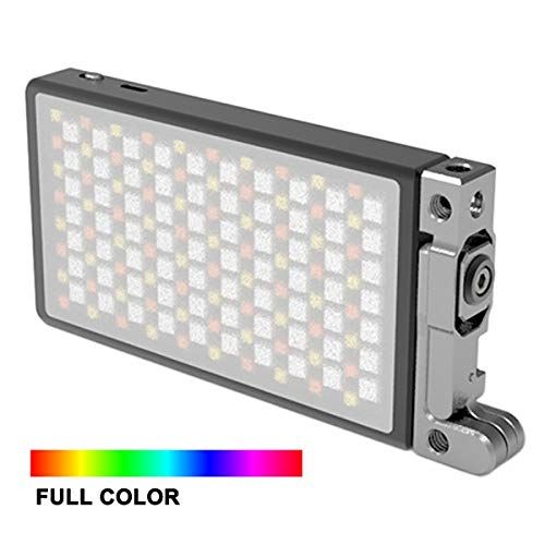 BOLING BL-P1 RGB LED Full Color Light for Camera Camcorder, Rechargeable Pocket Size Video Light with 2500k-8500k Color Range, 9 Common Scenario Simulations with Premium Aluminum Alloy Shell by BOLING (Image #6)