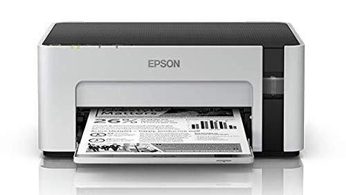 Epson M1120 EcoTank Monochrome Wi-Fi Ink Tank Printer (White)