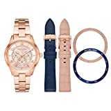 Michael Kors Women Runway Quartz Stainless Steel Rose Gold with Rose Gold Dial Watch MK3983