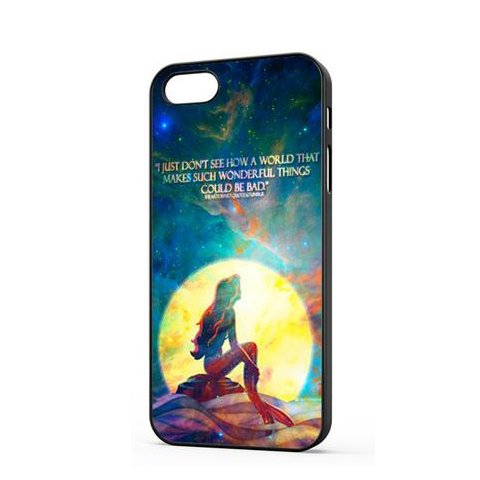 Coque,The Little Mermaid Quote Coque iphone 5 Case Coque, The Little Mermaid Quote Coque iphone 5s Case Cover
