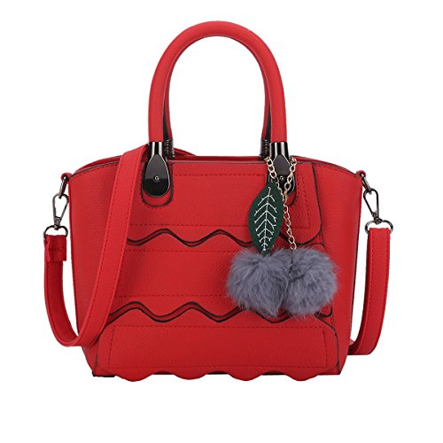 Dissa - Womens Shoulder Bag One Size Red