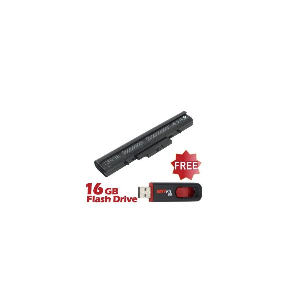 Battpit™ Laptop / Notebook Battery Replacement for HP HSTNN IB44 (4400 mAh) with FREE 16GB Battpit™ USB Flash Drive