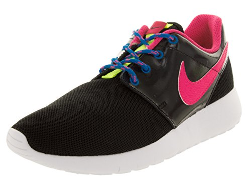 Nike Roshe One (GS) Mädchen Low-Top Black/Pink Pow/Vvd Pink/White