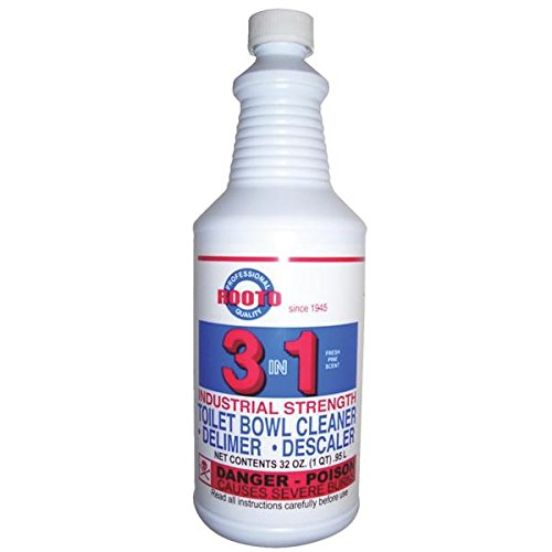 Rooto Toliet Cleaner & Delimer Bottle Bottle 32 Oz by ROOTO CORPORATION