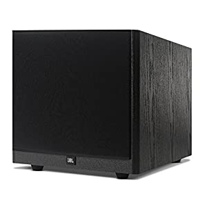 """JBL Arena S10 Black 10"""" 100W Powered Subwoofer with Special Edition Grilles & Logo Black"""