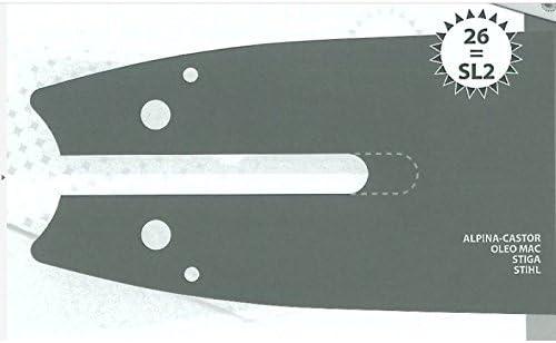 Guide tron/çonneuse 30 CM adaptable STIHL MS200T type 3//8LP 1.1mm 44 E