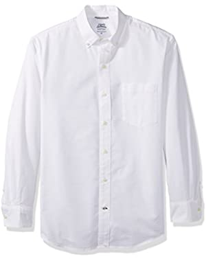 Men's Oxford Solid Long Sleeve Shirt