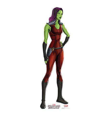 Gamora - Guardians of the Galaxy (TV Series) - Advanced Graphics Life Size Cardboard Standup