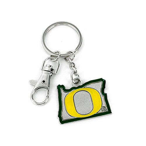 NCAA Oregon Ducks State Design Heavyweight Keychain ()