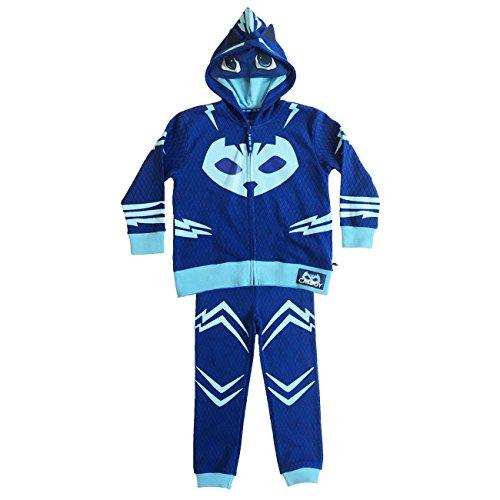 PJ Masks Catboy Boy's Toddler Hoodie and Pants Set (5/6T) ()