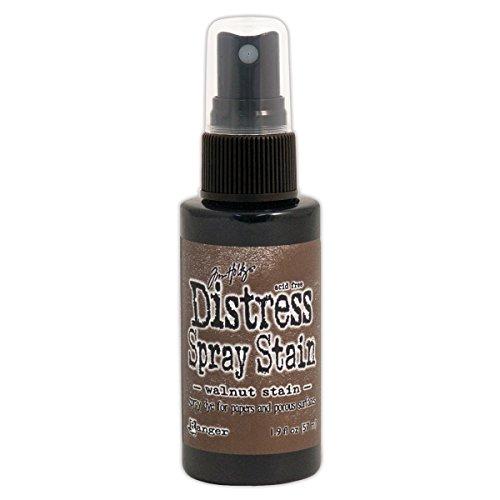 Ranger Tim Holtz Distress Spray Stains Bottles, 1.9-Ounce, Walnut Stain