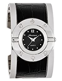 Women's Watches by Marciano - Black and Silver Bangle Watch - Make Every Second Count - FC0168