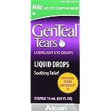 GENTEALTears Lubricant Eye Drops, Mild Liquid Drops, 15-mL