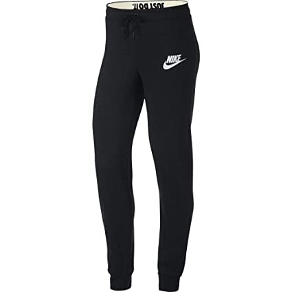 9fa57c4fe9 Amazon.com  Nike Women s Sportswear Rally Sweatpants (Black