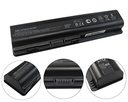 Baturu EV06 Laptop Battery for HP Pavilion dv4 dv5 G50 G60 G70 G71 G60-535DX Compaq Presario CQ60 CQ50 CQ40 CQ70 CQ45 484170-001 484171-001 484172-001 485041-001 485041-002 by BATURU (Image #1)